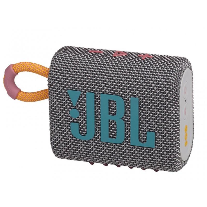 Колонка JBL Go 3 Grey Выгодный набор + серт. 200Р!!!
