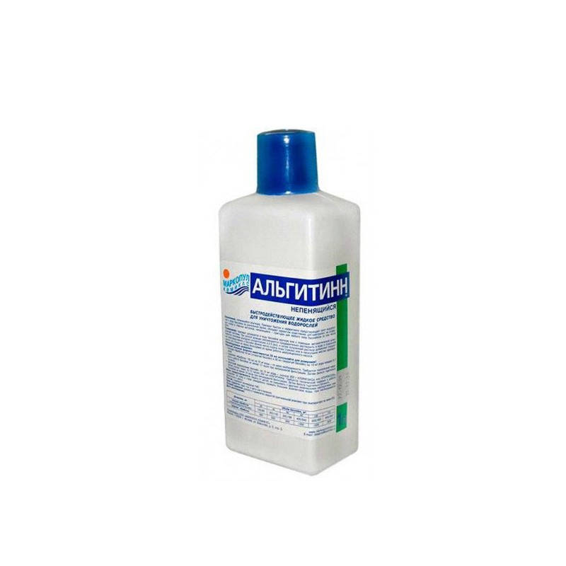 Жидкость для борьбы с водорослями Маркопул-Кемиклс Альгитинн непенящийся 1л М07