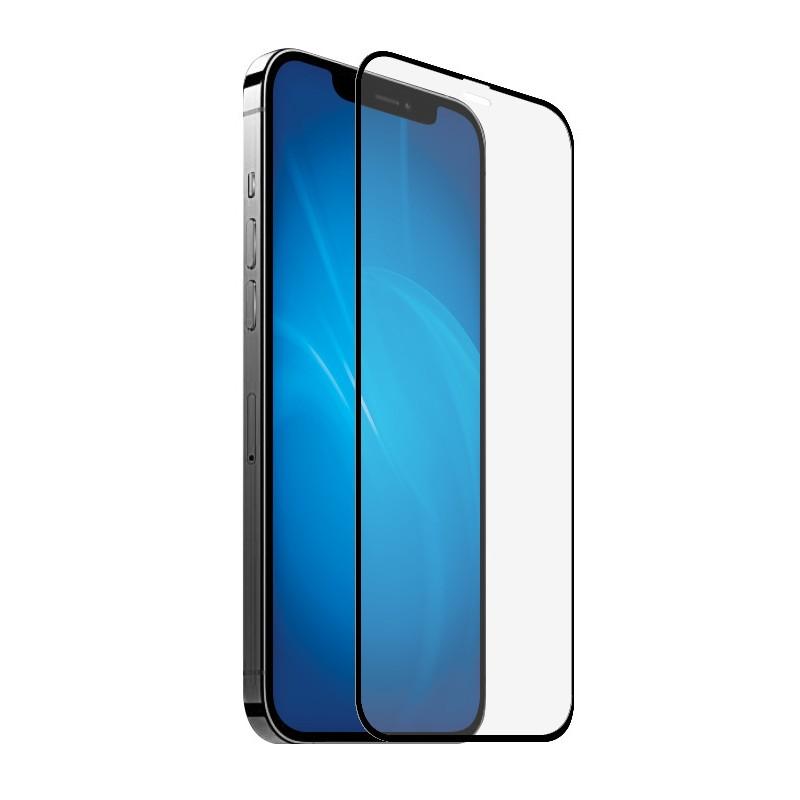 Защитное стекло Zibelino для APPLE iPhone 12 mini 3D с защитой динамика от пыли Black ZTG-3D-DP-APL-12-MINI-BLK