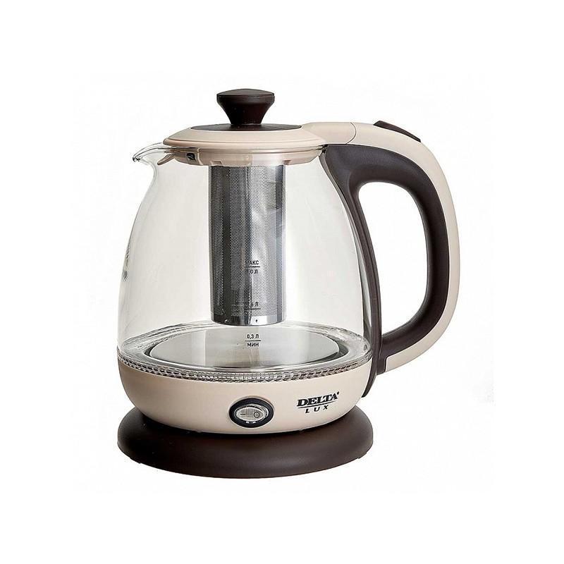 Чайник Delta Lux DE-1005 1L Beige