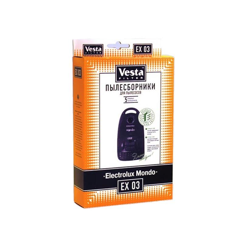 Комплект пылесборников Vesta Filter EX 03