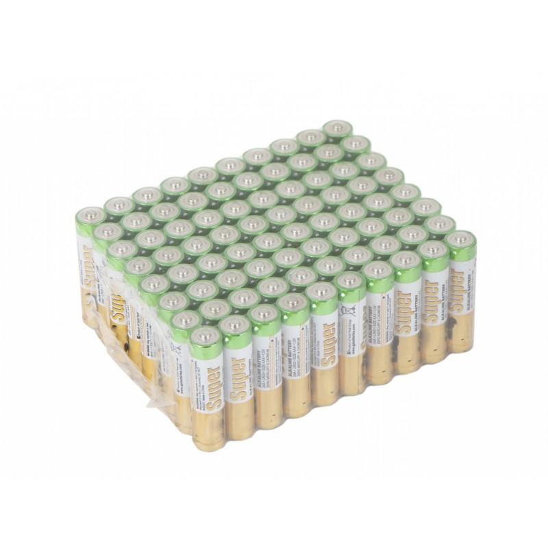 Батарейка AAA - GP Super Alkaline 24A-2CRVS80 (80 штук)