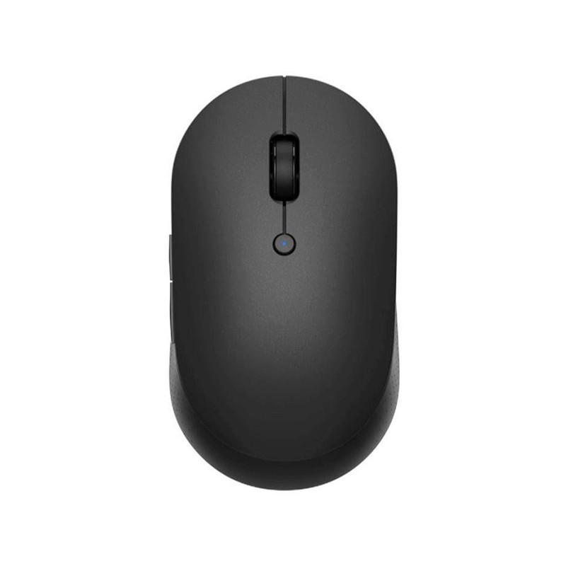 Мышь Xiaomi Mi Dual Mode Wireless Mouse Silent Edition Receiver Black WXSMSBMW02 / HLK4041GL Выгодный набор + серт. 200Р!!!