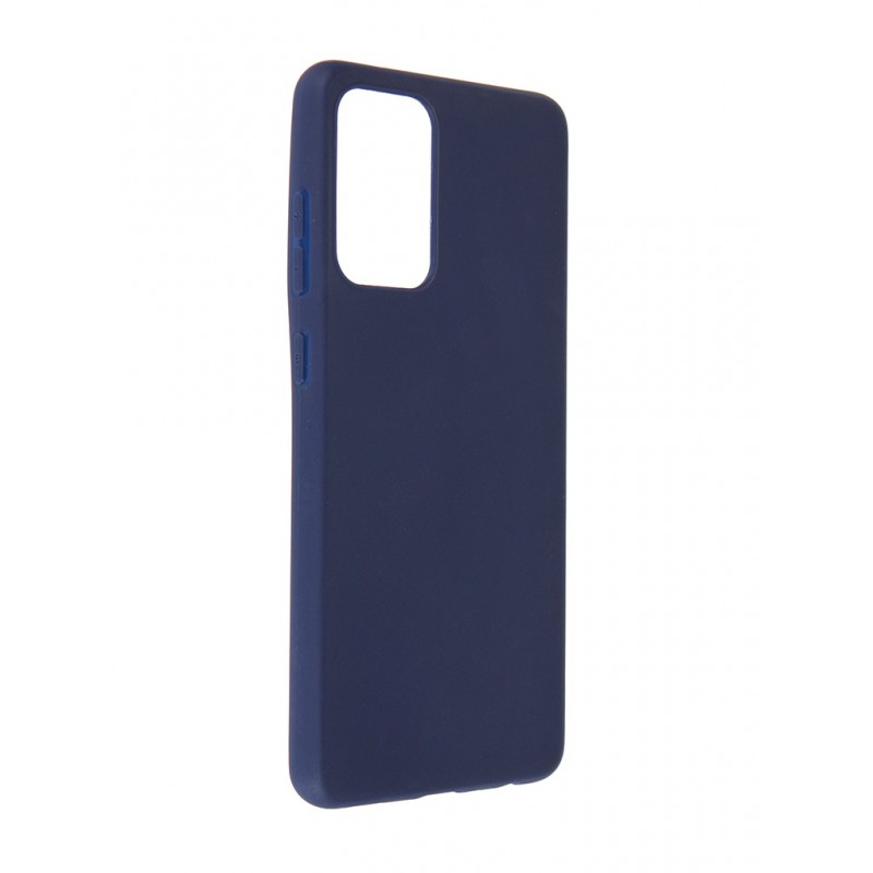 Чехол Neypo для Samsung Galaxy A72 2021 Soft Matte Silicone Dark Blue NST21708