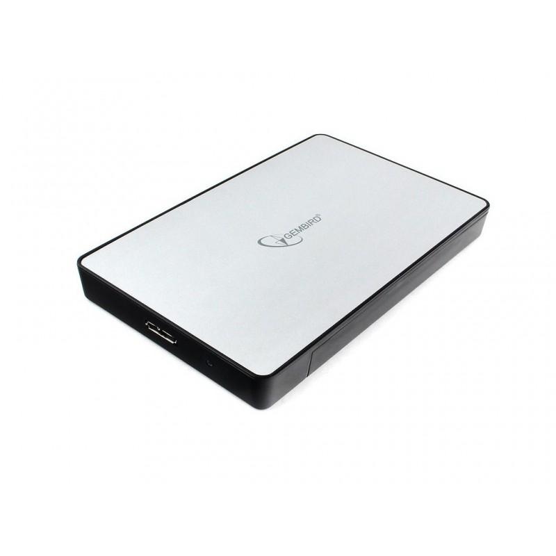 Внешний корпус Gembird EE2-U3S-31P USB 3.0 Silver