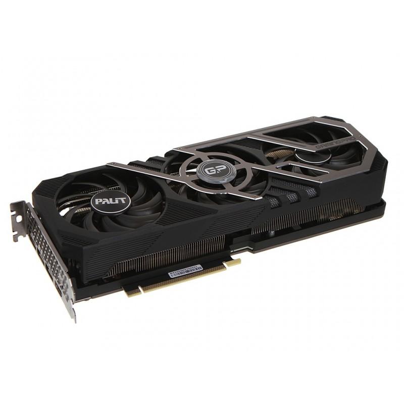 Видеокарта Palit GeForce RTX 3090 Gaming Pro OC 24G 1395Mhz PCI-E 4.0 24576Mb 19500Mhz 384-bit HDMI 3xDP NED3090S19SB-132BA