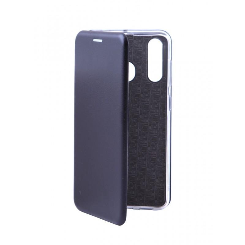 Чехол Innovation для Samsung Galaxy A60 Book Silicone Magnetic Black 15491