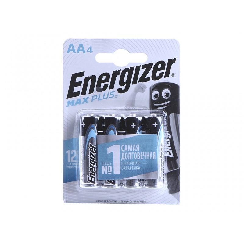 Батарейка AA - Energizer Max Plus (4 штуки) E301325001 / 38692