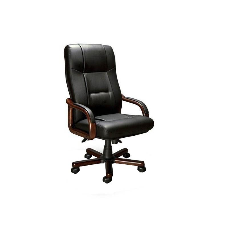 Компьютерное кресло Мирэй Групп Бонн A LX экокожа Black