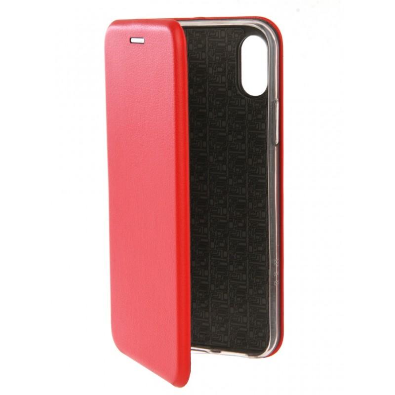 Чехол Innovation для APPLE iPhone 7 / 8 Book Silicone Red 12140