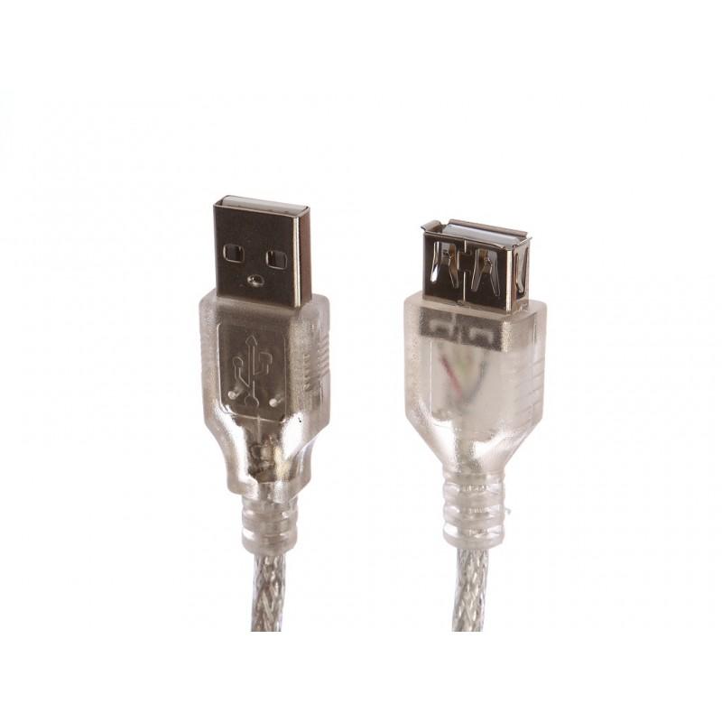 Аксессуар Gembird Cablexpert Pro USB 2.0 AM/BM 1.8m Transparent CCF-USB2-AMBM-TR-6
