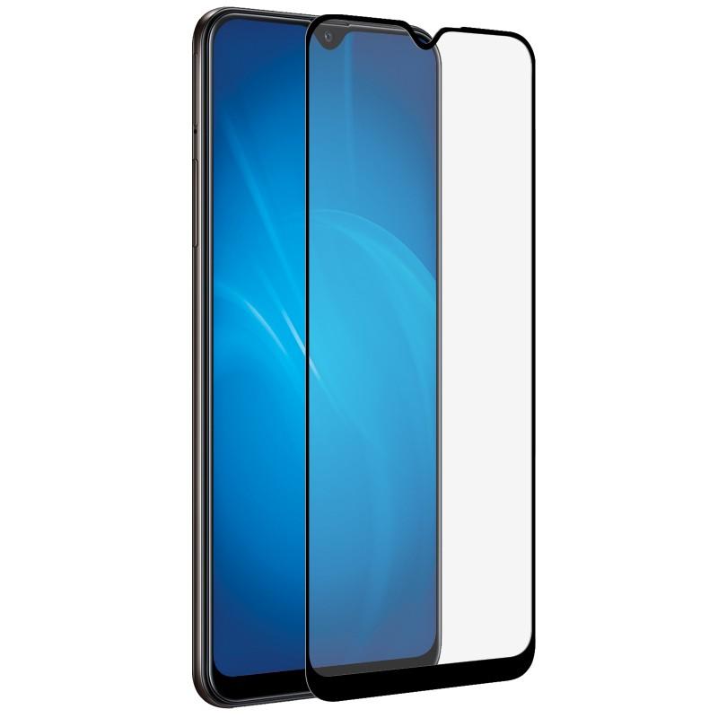 Защитный экран Red Line для Samsung Galaxy A02s Full Screen Tempered Glass Full Glue Black УТ000023495