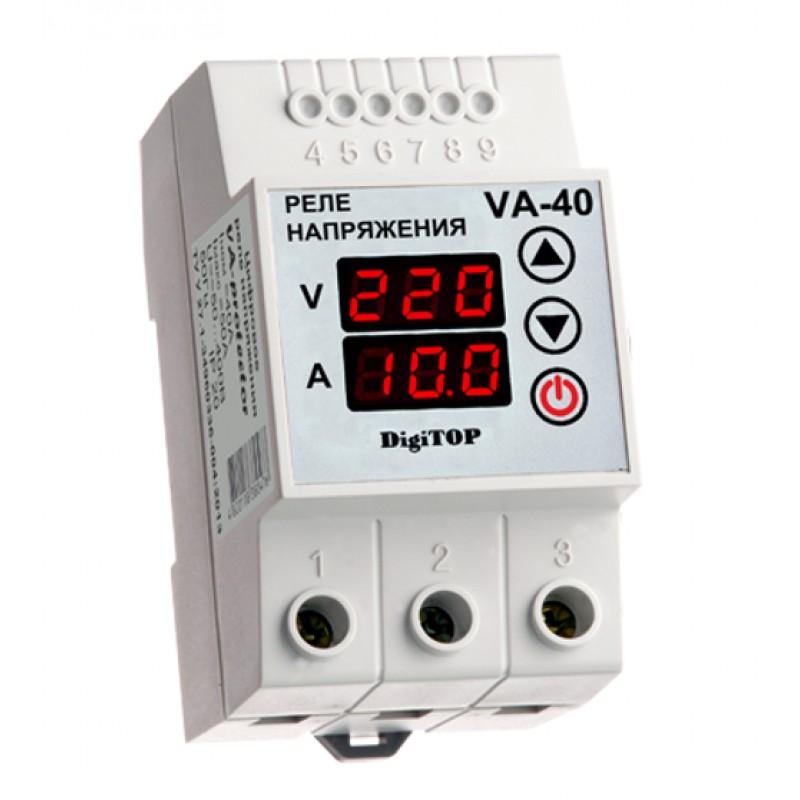 Реле контроля напряжения Digitop VA-40A