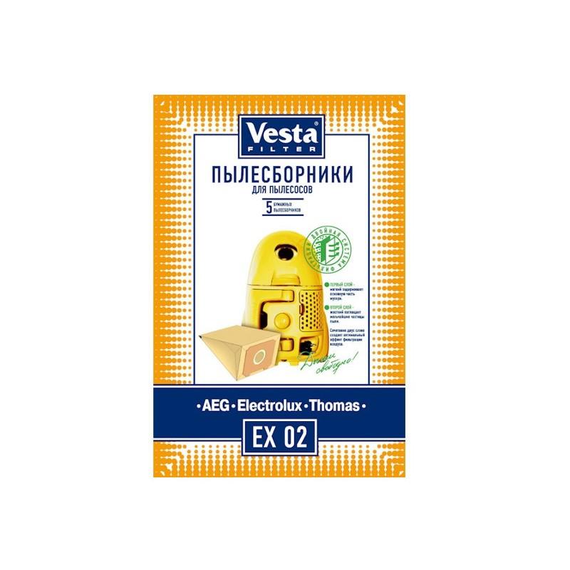 Мешки пылесборные Vesta Filter EX 02