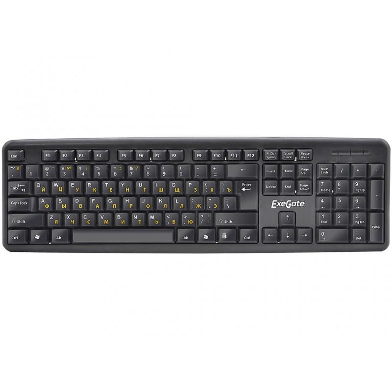 Клавиатура ExeGate LY-331 USB Black EX263905RUS