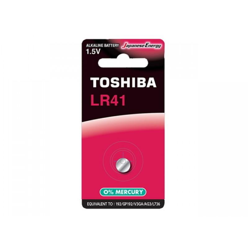 Батарейка LR41 - Toshiba BP-1C (1шт)