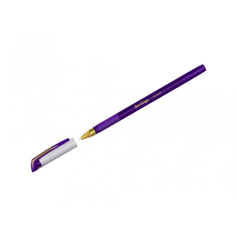 Ручка шариковая Berlingo xGold корпус Violet, стержень Violet Cbp_07504 271156