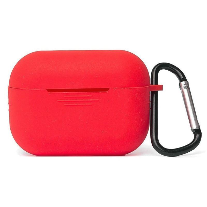 Чехол Zibelino для APPLE AirPods Pro Silicon Case Red ZCCWC-AIR-PRO-RED