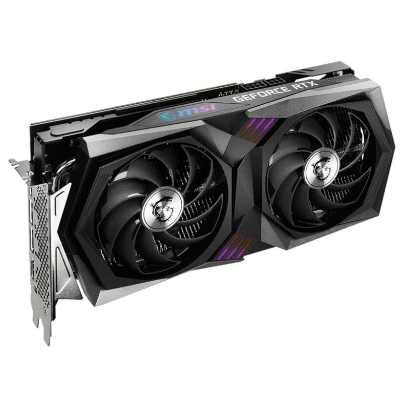 Видеокарта MSI GeForce RTX 3060 TI Gaming X 8G LHR 1770Mhz PCI-E 4.0 8192Mb 14000Mhz 256 bit HDMI 3xDP