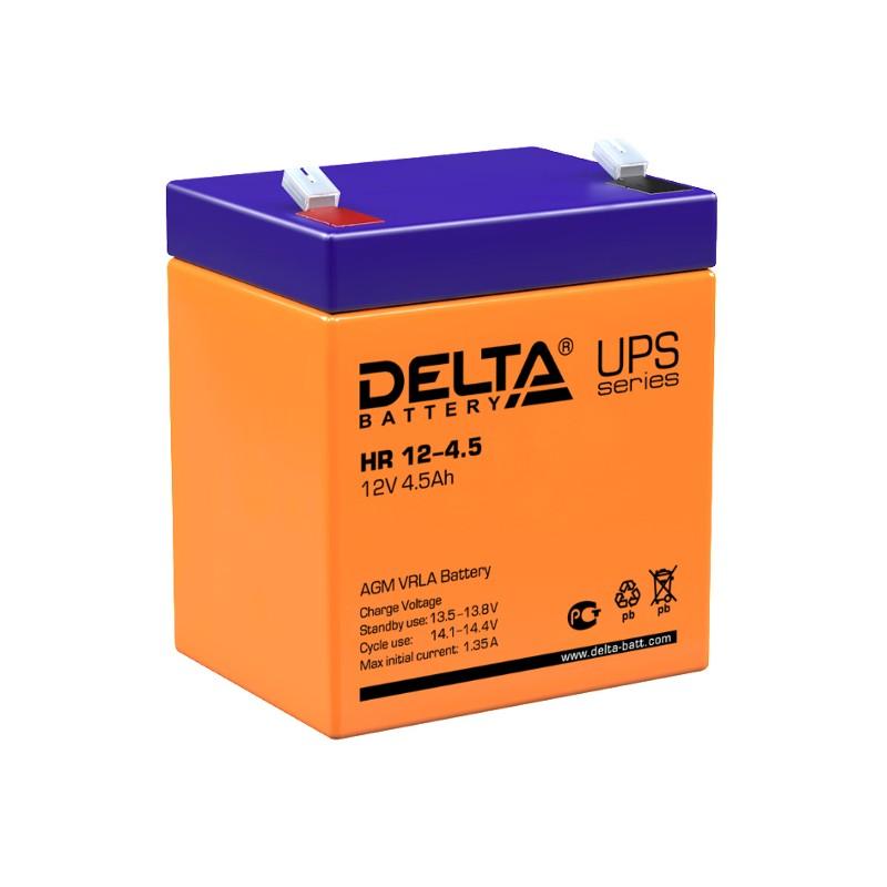 Аккумулятор для ИБП Delta HR 12-4.5 12V 4.5Ah
