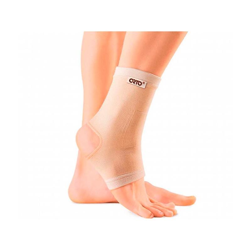 Ортопедическое изделие Бандаж голеностопа эластичный с открытой пяткой Orto BAN 300 размер XL