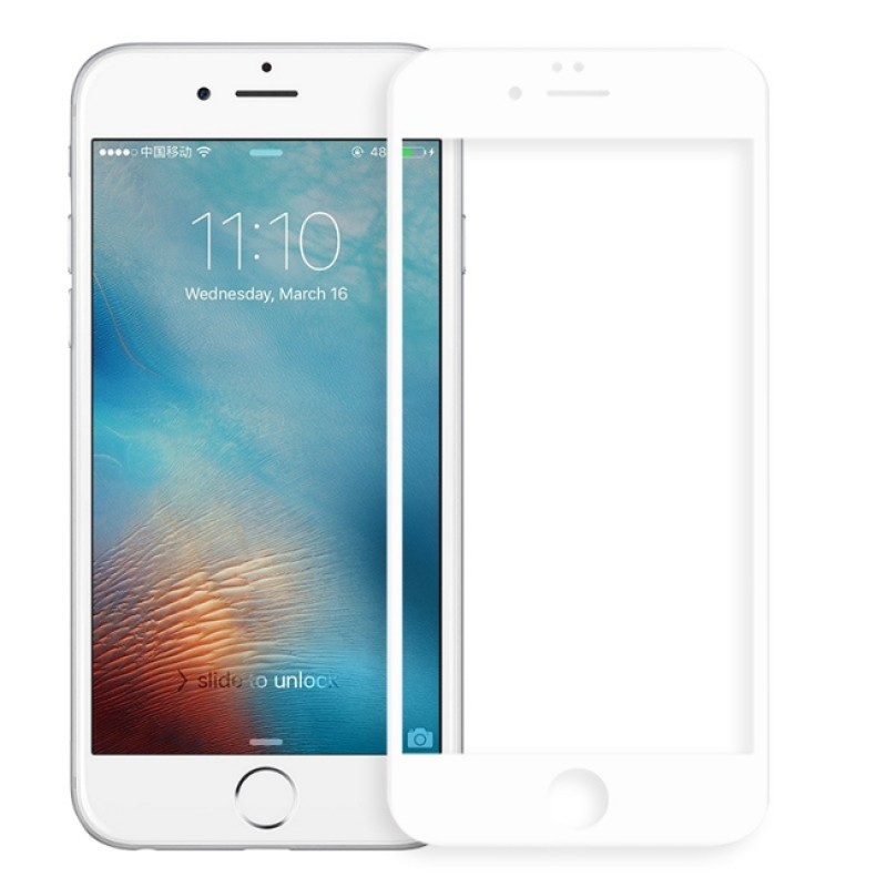 Защитное стекло Svekla для APPLE iPhone 6 / 6S Full Screen White ZS-SVAP6-FSWH