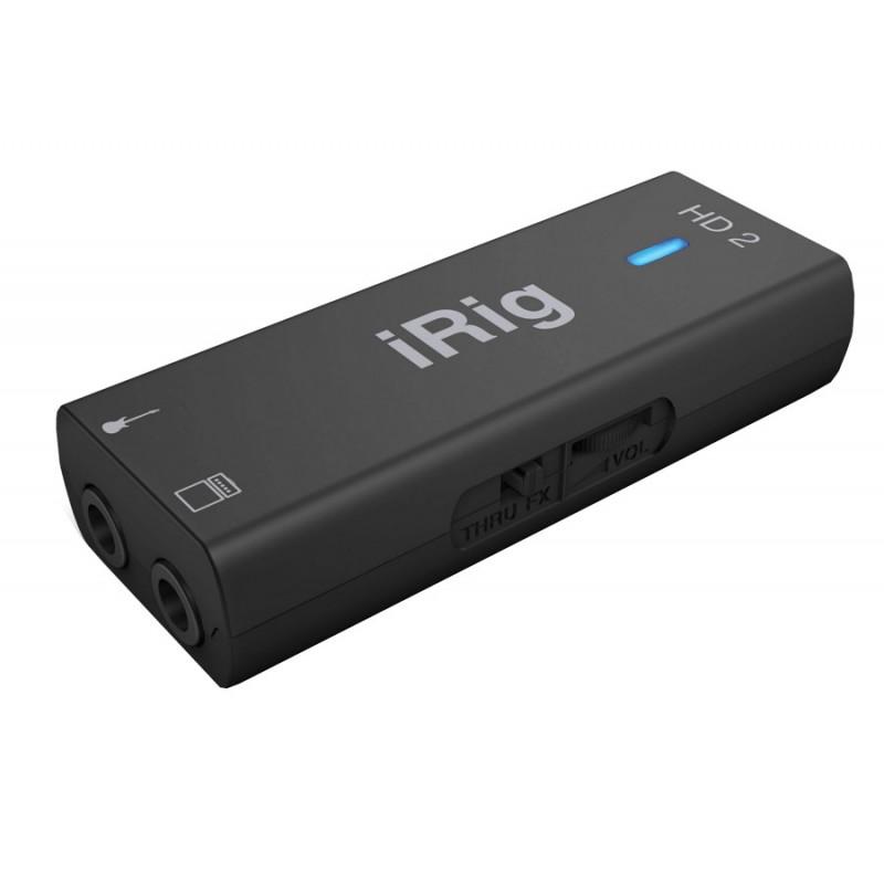 Аудиоинтерфейс IK Multimedia iRig HD 2 IP-IRIG-HD2-IN