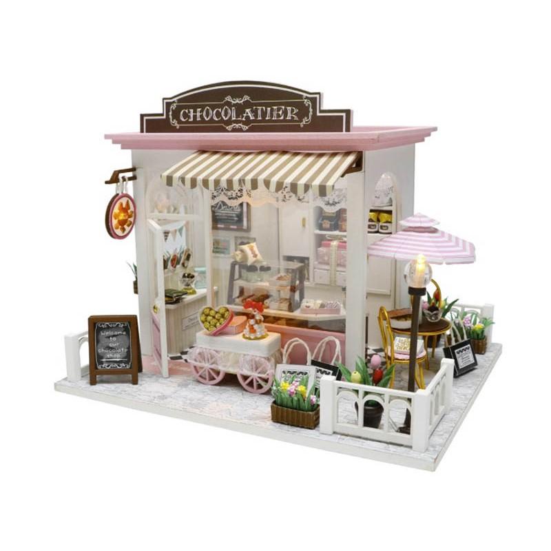 Сборная модель DIY House Шоколадница C007
