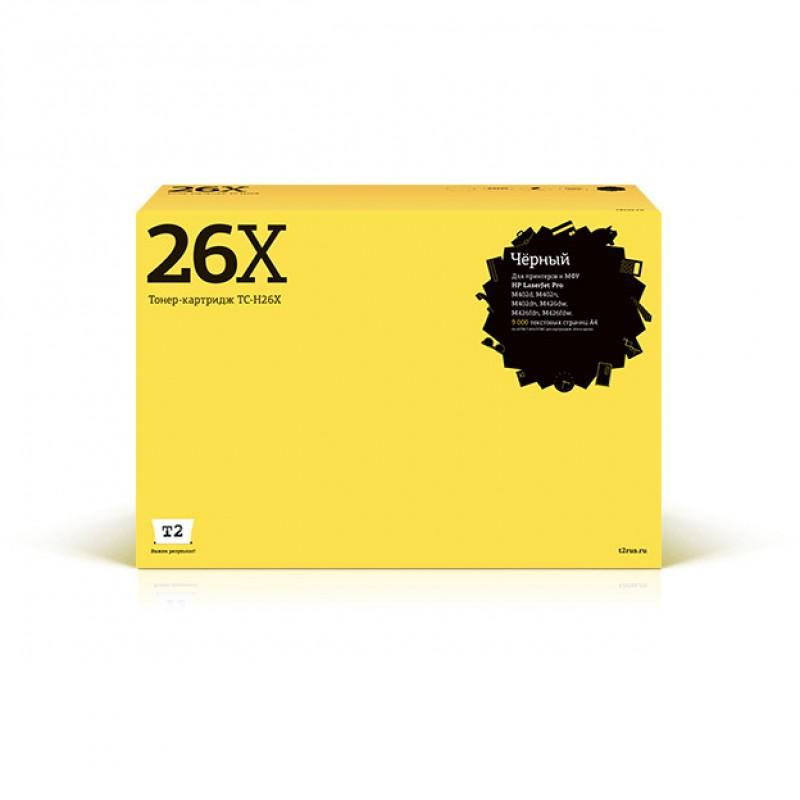Картридж T2 TC-H26X для HP LaserJet Pro M402d/M402n/M402dn/M426dw/M426fdn/M426fdw
