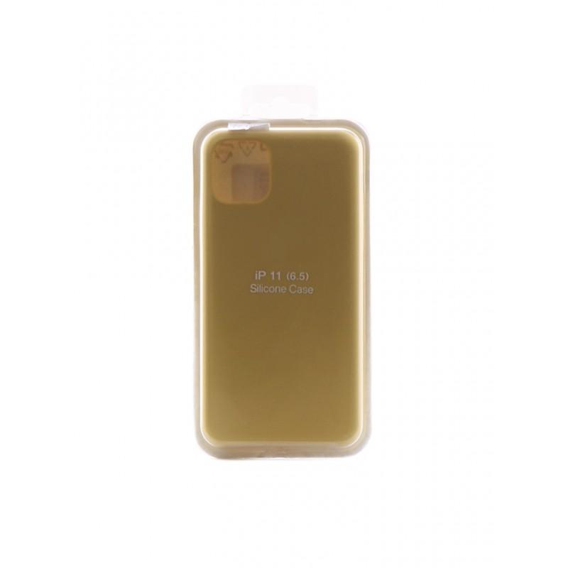 Чехол Innovation для APPLE iPhone 11 Pro Max Silicone Yellow 16448