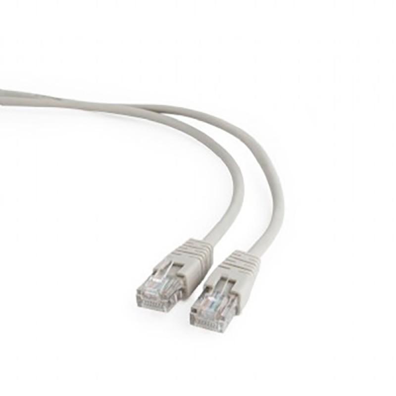 Сетевой кабель Gembird Cablexpert UTP cat.5e 0.5m Grey PP12-0.5m