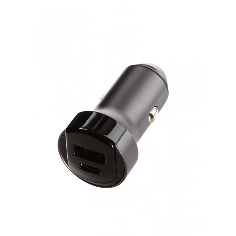 Зарядное устройство Red Line AC-19 Tech USB QС 3.0 + Type-C PD 3A Grey УТ000018617